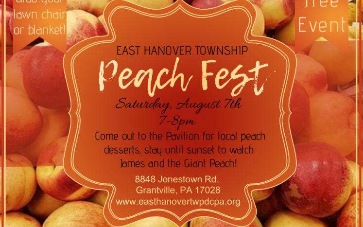 Peach Fest Flyer